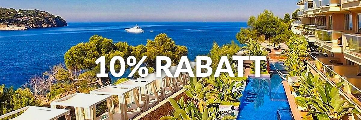 10% Early Booking Rabatt im Jardin del Sol